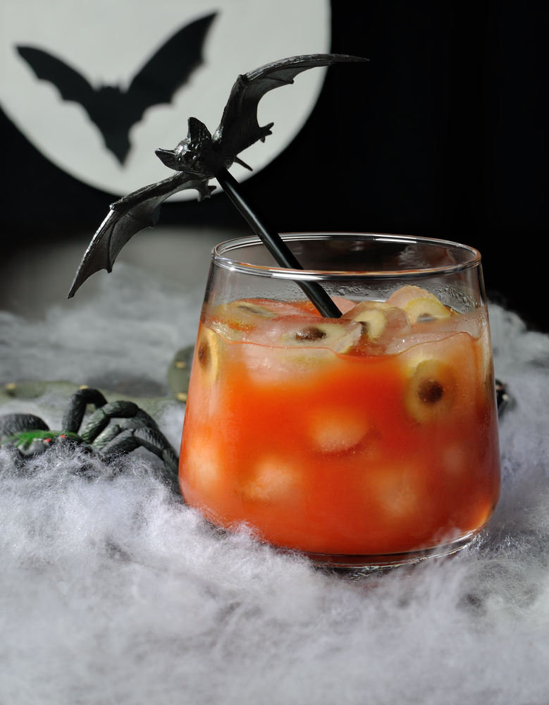mutant mary bloody mary halloween drink